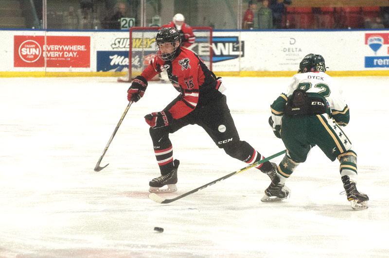 Calgary midget aaa buffalos hockey team