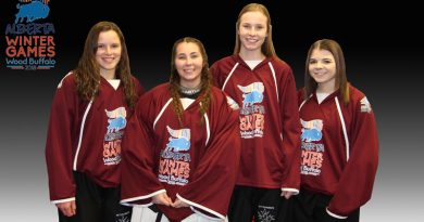 Local girls aim for gold at Games