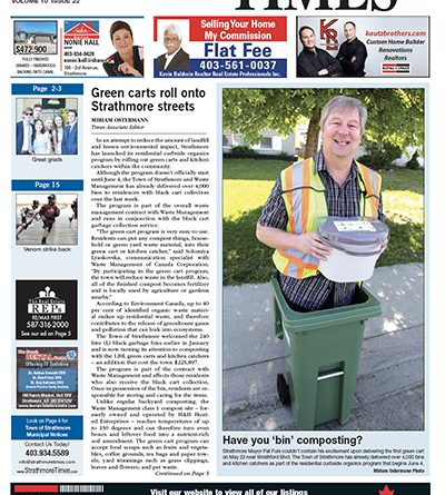 June 1, 2018 Strathmore Times | Strathmore Times